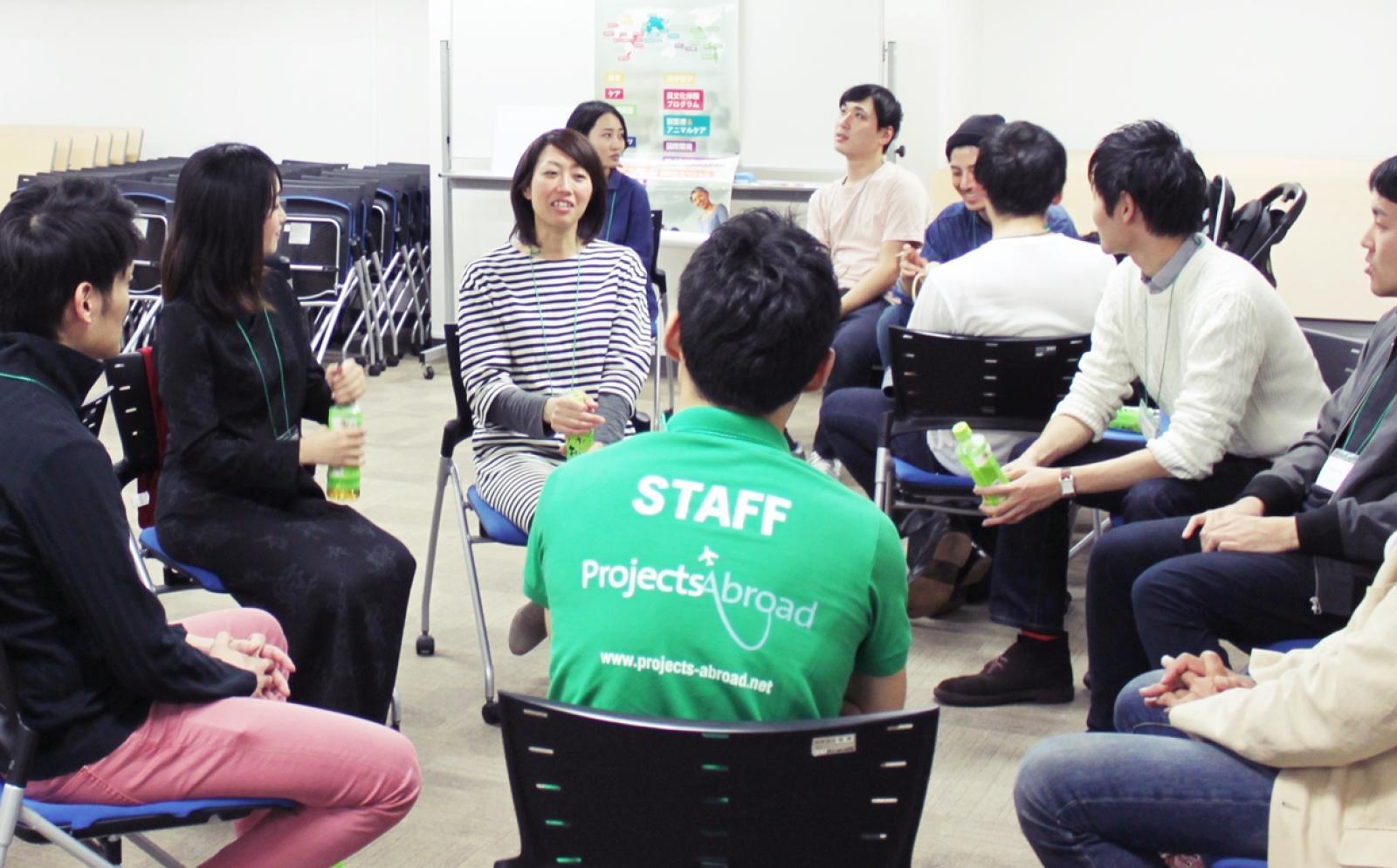 プロジェクトアブロードの日本支店スタッフ